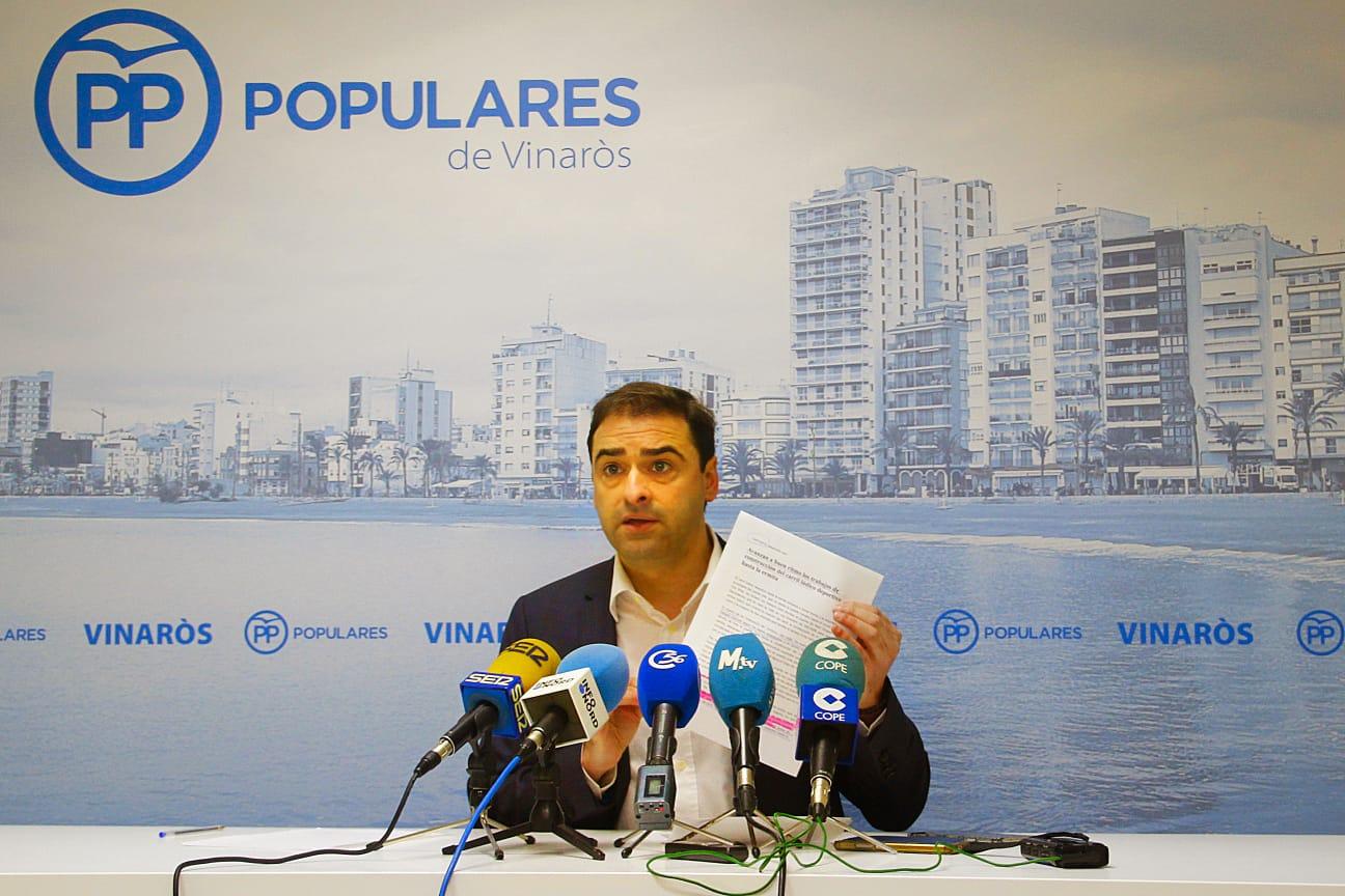 El PP exigix que la Generalitat pague els deutes acumulats de 3 anys amb els pescadors de Vinaròs