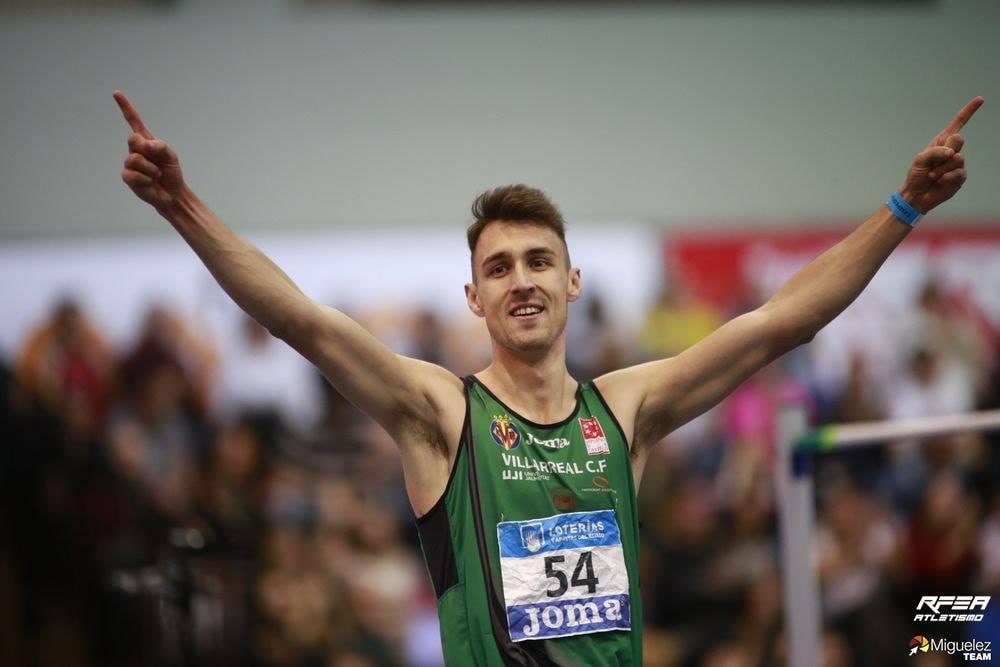 El benicarlando Alexis Sastre es proclama campió d'Espanya absolut en salt d'altura amb 2.22m