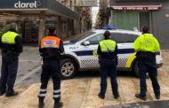 La Policia Local de Benicarló continua amb les denúncies per incompliment del decret