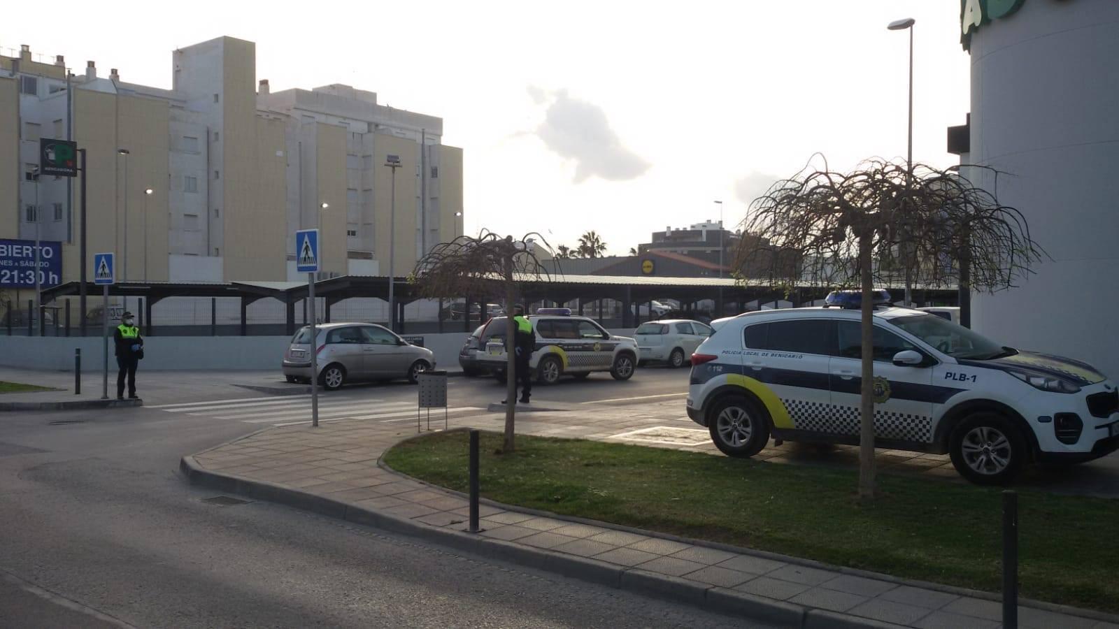 La Policia Local de Benicarló instrueix 7 nou denúncies per incompliment del decret