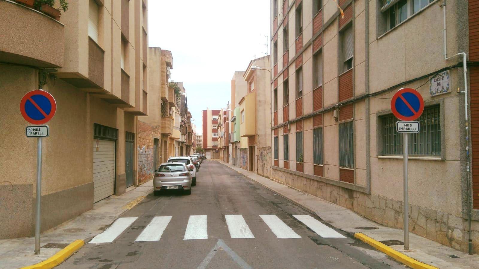 L'Ajuntament de Benicarló informa que s'ha desactivat l'alternança mensual d'aparcament al carrer