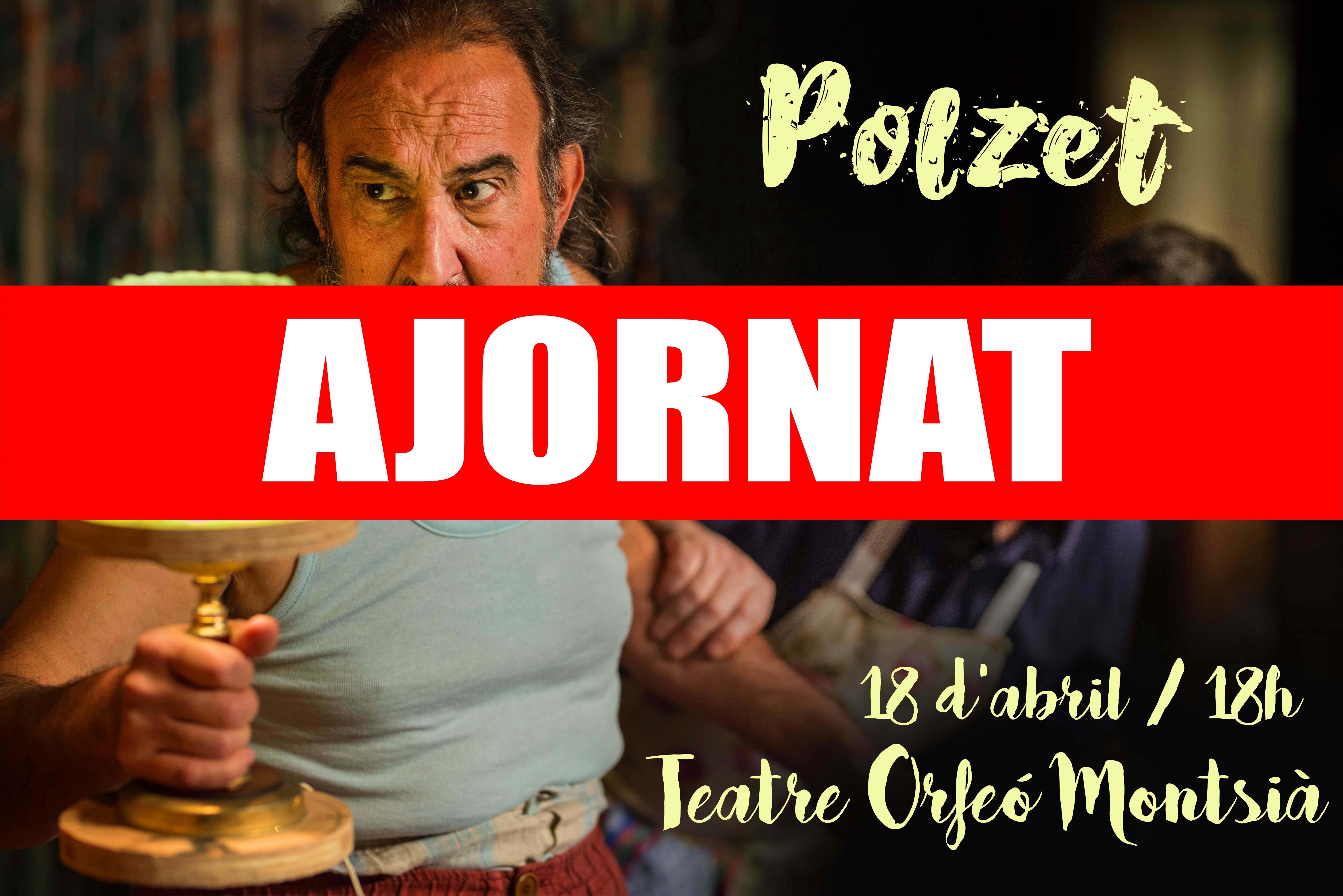 Ull de Teatre Grup Escènic – Xarxa Ulldecona informa de la suspensió de les obres previstes per al 18 d'abril i 2 de maig