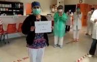 El personal del Centre de Salut de Benicarló ha realitzat un vídeo en el qual agraeix mitjançant un aplaudiment el quedar-nos a casa