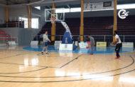 Benicarló; Visita al Poliesportiu per a vore les noves cistelles de bàsquet que s'han instal.lat 03-03-2020