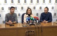 Benicarló; Roda de premsa de l'Ajuntament per a valorar l'ajornament de les Falles 2020 11-03-2020