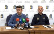 Benicarló; Roda de premsa per parlar del dispositiu de seguretat de Falles 03-03-2020