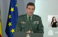 El Cap de l'Estat Major de la Guàrdia Civil destaca a Benicarló en la seua compareixença