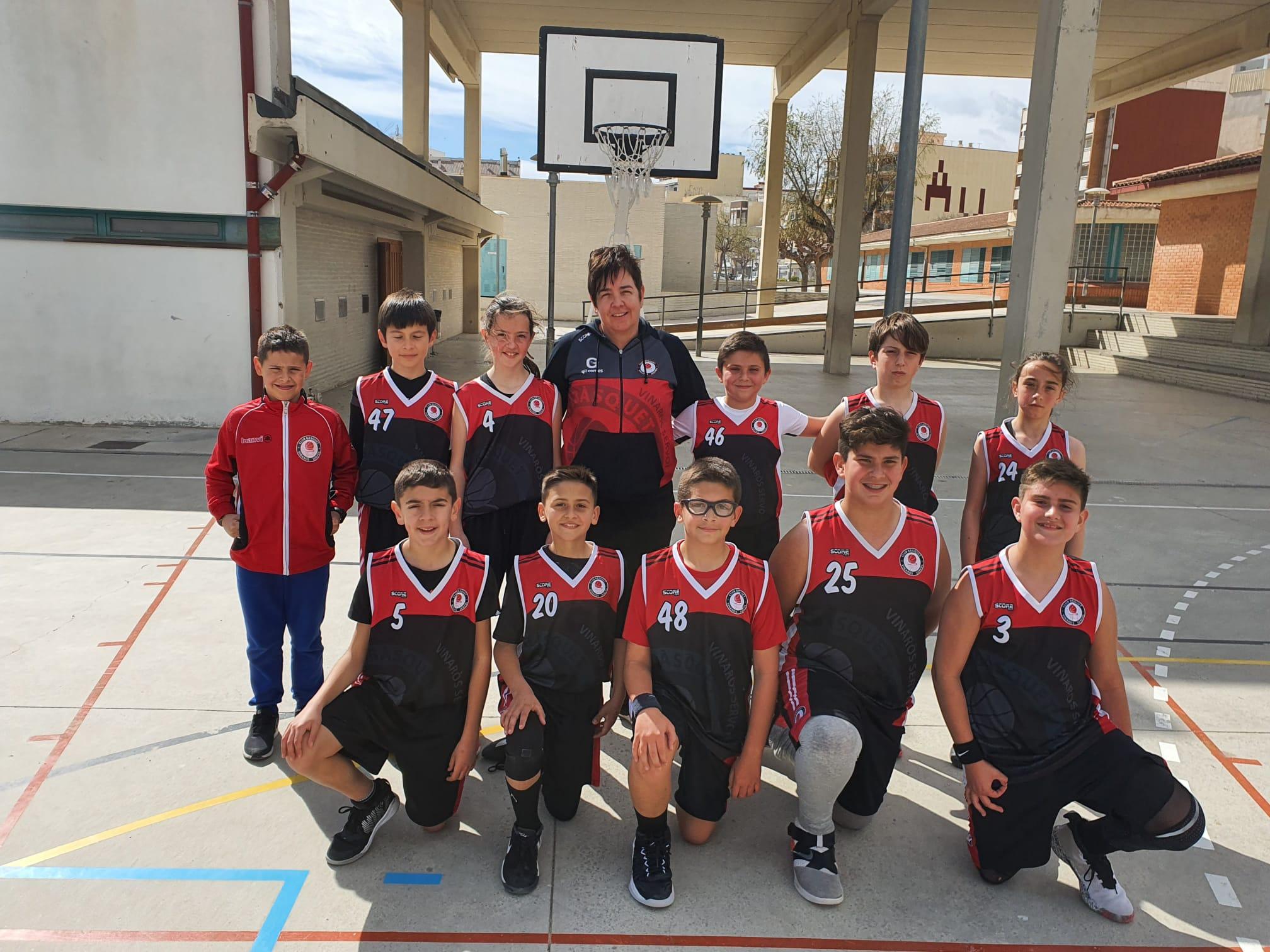 Jornada dels equips del Club Bàsquet Vinaròs