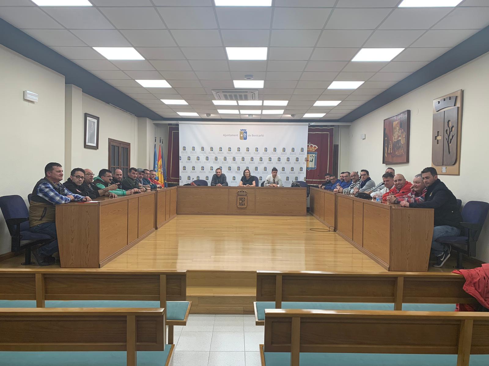 Les Falles de Benicarló adopten les primeres mesures després de la decisió d'ajornar-les
