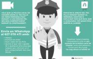 La Policia Local de Vinaròs engega una campanya d'agraïment als xiquets
