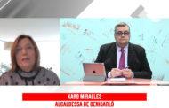 L'alcaldessa de Benicarló, Xaro Miralles, valora l'actual crisi sanitària