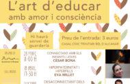 El IV cicle 'L'art d'educar amb amor i consciència' d'Alcanar se centra en la infància i l'adolescència