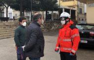 Bombers del Parc Comarcal del Baix Maestrat duen a terme tasques de desinfecció a Santa Magdalena