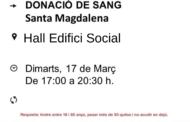 canal56.com Jornada de donació de sang a Santa Magdalena