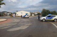 La Policia Local d'Alcanar denuncia 60 persones durant el cap de setmana