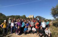 Prop de 50 persones participen en la II Marxa Senderista del Dia de la Dona