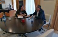L'alcalde de Santa Magdalena es reuneix amb la subdelegada del Govern a Castelló