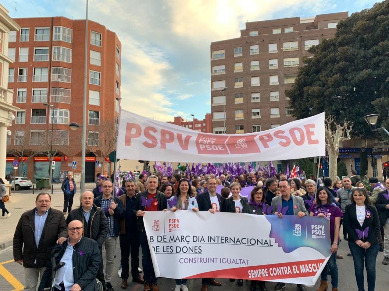 """Blanch (PSPV): """"El feminisme és el pilar fonamental que ha de sustentar la democràcia"""""""