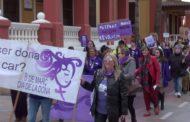 Vinaròs; manifestació del Dia Internacional de la Dona 08-03-2020