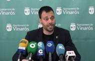 Vinaròs, roda de premsa de l'alcalde de la ciutat Guillem Alsina (tema: CORONAVIRUS)13-03-2020