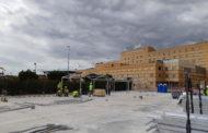 La Generalitat ultima els treballs per a l'inici del muntatge de l'hospital de campanya de Castelló