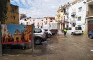 Càlig segueix amb les tasques de desinfecció del municipi