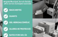 Generalitat i Diputació entreguen material sanitari de protecció a l'Ajuntament de Vinaròs