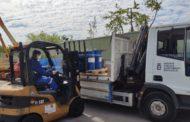 L'empresa IFF Benicarló continua aportant material de protecció