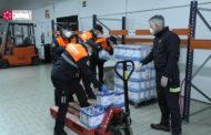 El Consorci Provincial de Bombers reparteix aliments a persones vulnerables a Culla