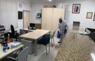 Trahicsa desinfecta l'Ajuntament i el Consultori Mèdic de Tírig