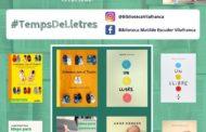 Vilafranca recrea les portades dels seus llibres favorits