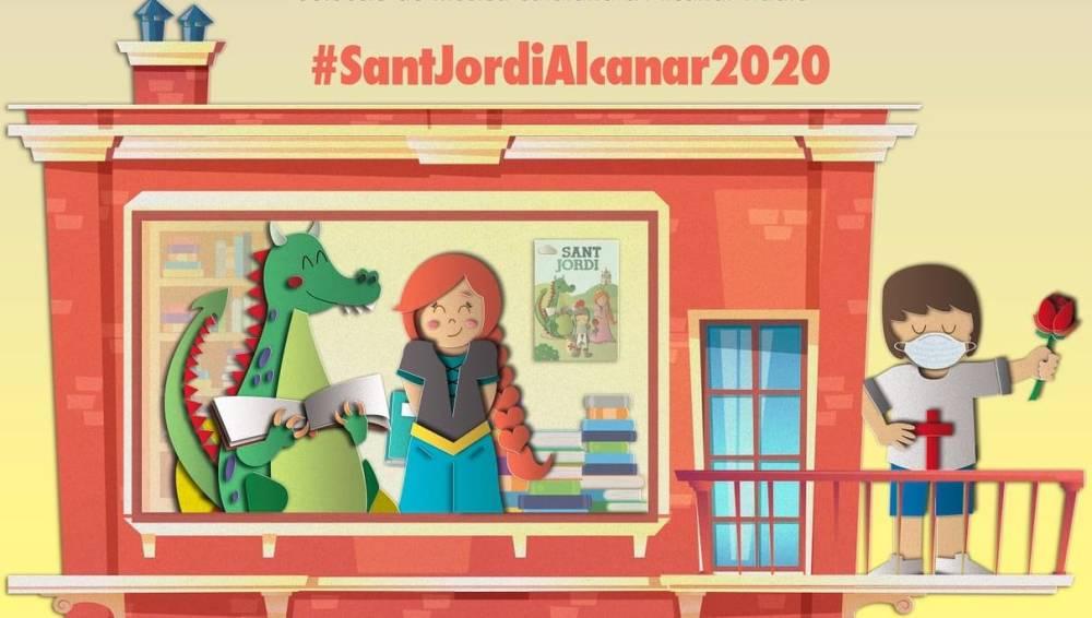 Literatura km 0 d'Alcanar per al Sant Jordi 2020 confinat