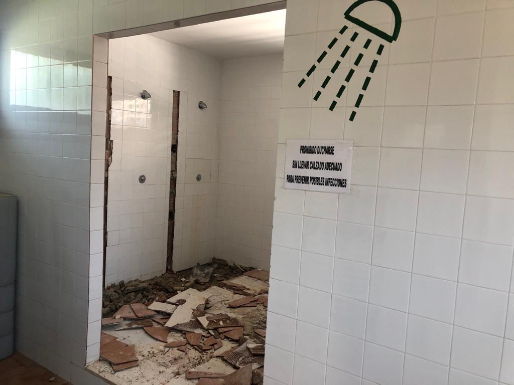 Comencen les obres de millora de l'accessibilitat en la piscina municipal d'Alcalà de Xivert
