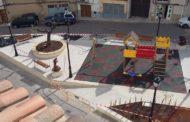 A punt de finalitzar les obres de remodelació de la plaça Fàbriques de Cervera del Maestre