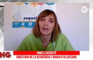 Àngels Reverté, directora de la residència L'Onada d'Ulldecona, en el programa La Nostra Gent de C56