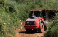 Santa Magdalena segueix avant amb la reparació de camins rurals