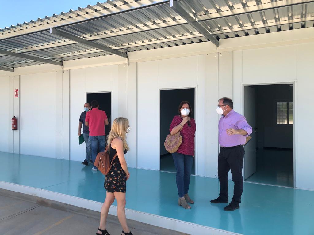 Santa Magdalena recepciona les aules prefabricades del CEIP Albert Selma