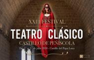 """La Diputació garanteix la celebració del Festival de Teatre Clàssic de Peníscola """"amb totes les mesures de seguretat"""""""