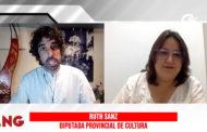 Ruth Sanz, diputada provincial de Cultura i regidora a l'Ajuntament de Càlig, en el programa La Nostra Gent de C56