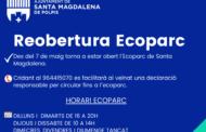 L'Ecoparc de Santa Magdalena obri de nou les seues portes