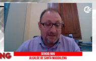Sergio Bou, alcalde de Santa Magdalena, en el programa La Nostra Gent de C56