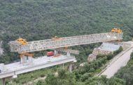 Avancen els viaductes de l'N-232 al Port de Querol