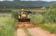 Santa Magdalena arregla els camins destrossats per l'últim temporal de pluja