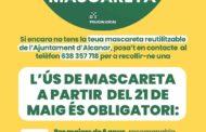 L'Ajuntament d'Alcanar proveirà de mascareta a totes les persones del municipi