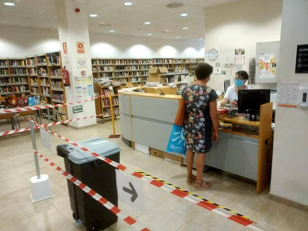 Reobertura de la Biblioteca Manel Garcia Grau de Benicarló