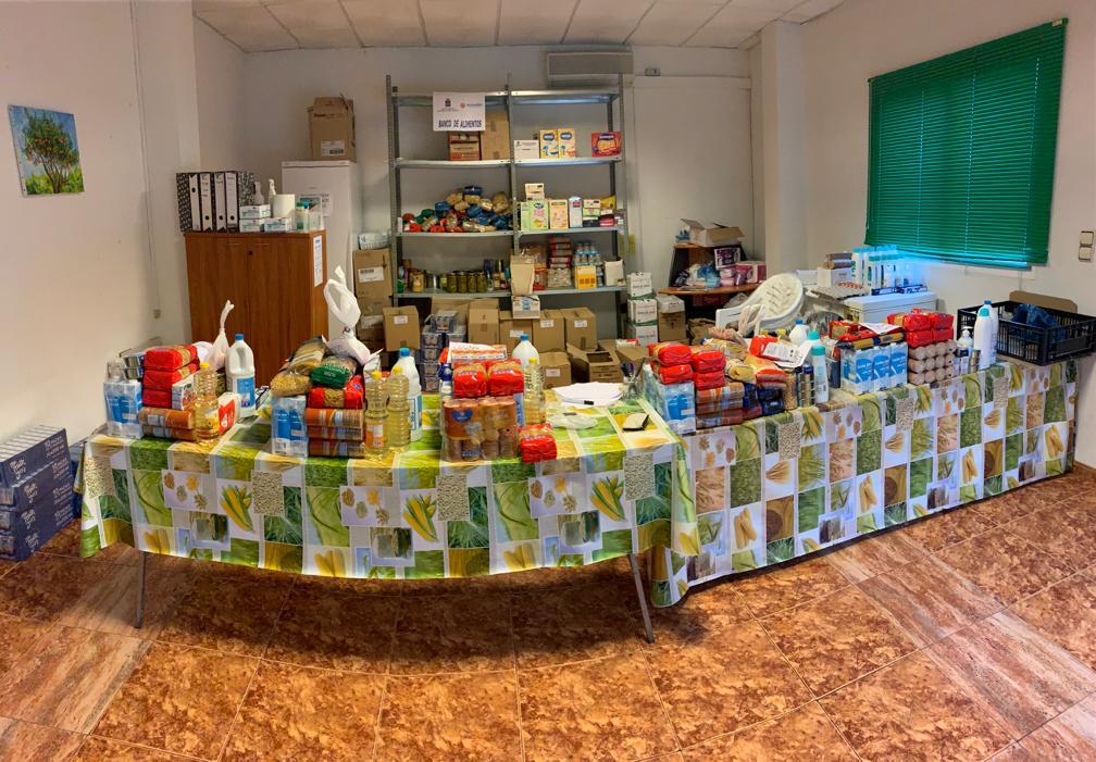 El Banc d'Aliments d'Alcalà-Alcossebre triplica el seu pressupost inicial i atén 189 famílies en situació de necessitat