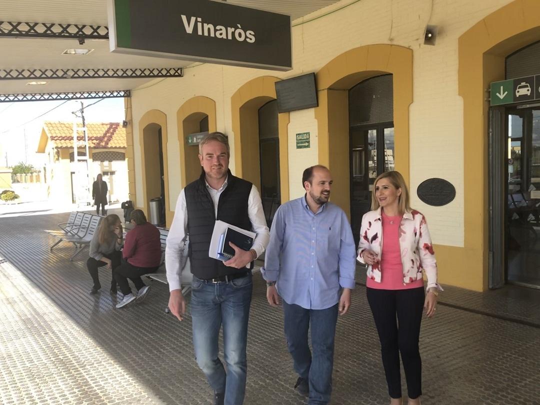 El PP exigeix que es recuperen els 12 trens Regionals entre Vinaròs i Castelló de forma immediata