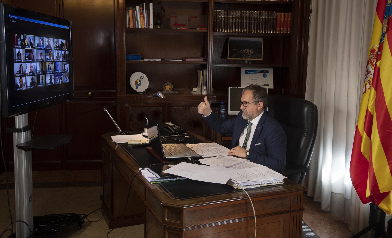 Martí anuncia que els ajuntaments ja poden sol·licitar les ajudes del Fons Covid pactat per tots els partits