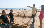 Peníscola prepara el 'Punt Accessible' per a garantir l'ús de la platja a persones amb mobilitat reduïda