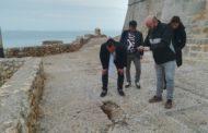 L'Ajuntament de Peníscola demana amb urgència a la Generalitat la reparació de la zona de la Porteta